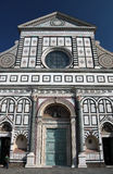 kyrklig facademaria novella santa Royaltyfri Fotografi