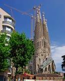 kyrklig familia gotiska sagrada Fotografering för Bildbyråer