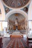 kyrklig filippinsk historisk interior Arkivfoton