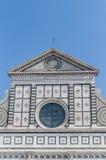 kyrklig florence italy maria novella santa Royaltyfri Bild