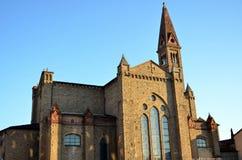 kyrklig florence maria novella santa Arkivbild