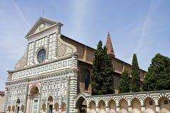 kyrklig florence maria novella santa Arkivfoton