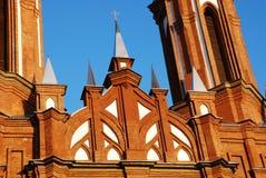 kyrklig framsida Fotografering för Bildbyråer