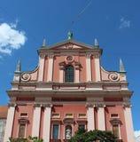 kyrklig franciscan för annunciation fotografering för bildbyråer