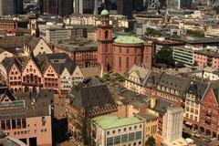 kyrklig frankfurt paul st Royaltyfri Fotografi