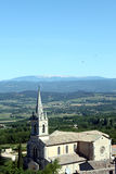 kyrklig fransk by Arkivfoton