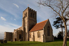 kyrklig gammal england northamptonshire Arkivfoton
