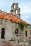 kyrklig gammal town för budva Royaltyfria Bilder