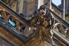 kyrklig gargoyle Royaltyfri Foto