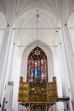 kyrklig gdansk mary s st Arkivfoto