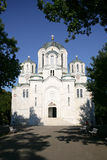 kyrklig george serbia st royaltyfri bild