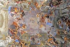 kyrklig gesu rome Arkivfoton