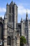 kyrklig ghent nicholas saint Royaltyfria Foton