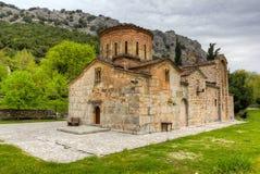 kyrklig greece panagiaporta thessaly Royaltyfria Bilder