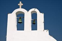 kyrklig greece santorini Royaltyfri Fotografi