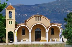 kyrklig grekisk laconiaviglafia Arkivbild