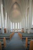 kyrklig hallgrimskirkja iceland reykjavik arkivfoto