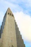 kyrklig hallgrimskirkja iceland reykjavik Resor royaltyfria foton