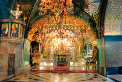 kyrklig helig jerusalem sepulchre Arkivfoto