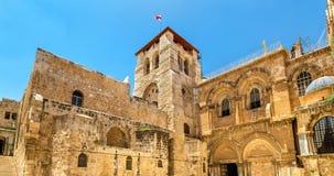 kyrklig helig jerusalem sepulchre Arkivfoton