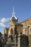 kyrklig historisk slott Arkivfoton