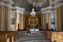 Kyrklig inre för armenier Arkivbilder