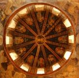 kyrklig inre korye för chora royaltyfri fotografi