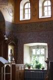 kyrklig interior Arkivbilder