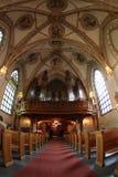 kyrklig interior Arkivfoto