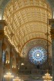 kyrklig interior Royaltyfri Foto