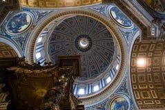 kyrklig italy peter rome s st Royaltyfria Bilder