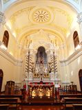 kyrklig joseph macao s seminariumst Royaltyfri Fotografi