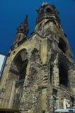 kyrklig kaiserminnesmärke wilhelm Arkivfoto