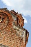 kyrklig kaneomacedonia ohrid arkivbild