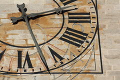 kyrklig klocka Royaltyfri Fotografi
