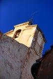Kyrklig klocka i Provence Arkivbild