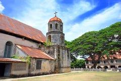 kyrklig klosterfilippinlandmark royaltyfri bild