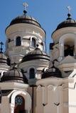 kyrklig klostervinter för capriana Royaltyfri Fotografi