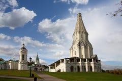 kyrklig kolomenskoye gammala moscow Royaltyfria Foton