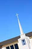 kyrklig korskyrktorn Fotografering för Bildbyråer