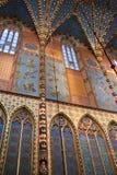 kyrklig krakow mary poland st royaltyfri bild