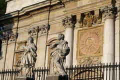 kyrklig krakow paul peter s st Royaltyfri Bild