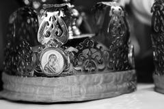 Kyrklig krona Royaltyfria Bilder