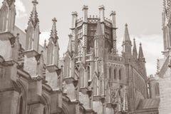 Kyrklig kupol för domkyrka, Ely; Cambridgeshire; England; UK Arkivbilder