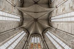 Kyrklig kupol för Franciscan royaltyfria foton