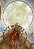 kyrklig kupol för ljuskrona Royaltyfria Foton