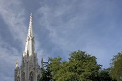 kyrklig kyrktorn Royaltyfri Bild