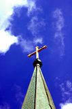 kyrklig kyrktorn Royaltyfri Foto