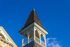 kyrklig kyrktorn Arkivbild