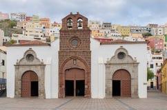 Kyrklig la Asuncion för laiglesiade i San Sebastian de la Gomera Royaltyfri Bild